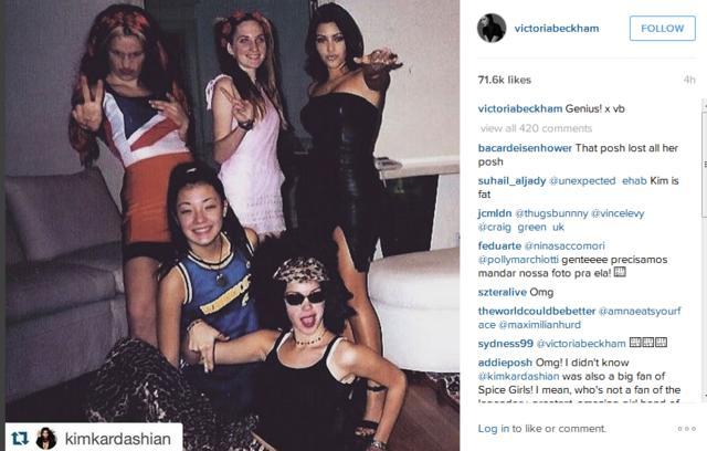 Η Βικτόρια Μπέκαμ αποθεώνει την Κιμ Καρντάσιαν στο Instagram [photos]