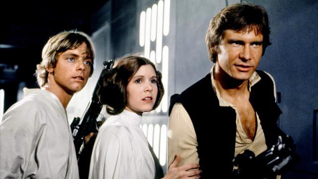 Star Wars: Λουκ Σκαϊγουόκερ, πριγκίπισα Λέια & Χαν Σόλο, μαζί 38 χρόνια μετά