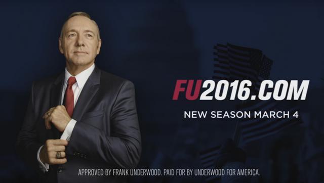 House of Cards: Δες το τρέιλερ- προεκλογικό σποτ για τον 4ο κύκλο [vds]