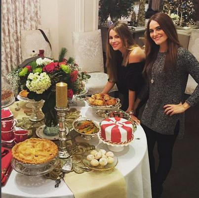 Σοφία Βεργάρα: Ζηλέψαμε το γιορτινό της τραπέζι