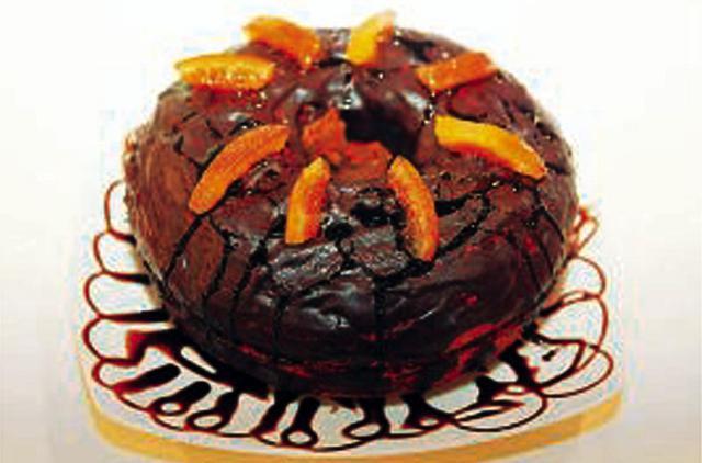 Κέικ με γλάσο σοκολάτας