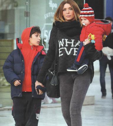 Δες την πιο χαριτωμένη φωτογραφία του μικρού γιο της Ηλιάδη
