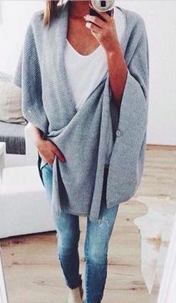 5 τρόποι να φορέσεις τις ζεστές μακριές ζακέτες του χειμώνα