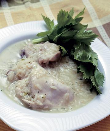 Κοτόσουπα με αυγολέμονο