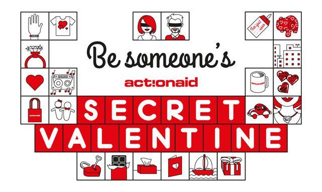 Secret Valentine με την ActionAid