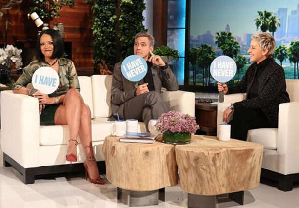 Η Rihanna και ο Κλούνεϊ εξομολογήθηκαν τις αμαρτίες τους στην Ellen [vds]