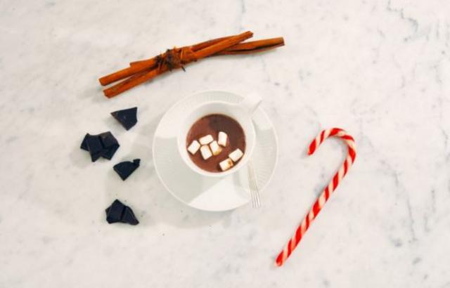 Η ζεστή σοκολάτα ρόφημα της Μαρί Σαντάλ