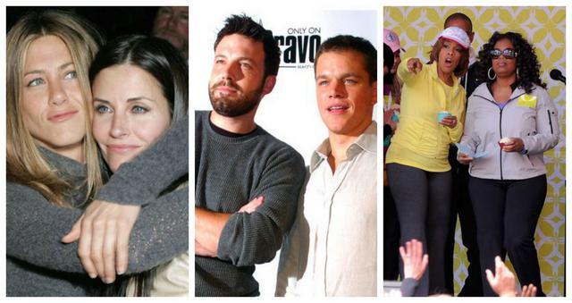 Φιλίες του Hollywood που μας διδάσκουν πολλά!