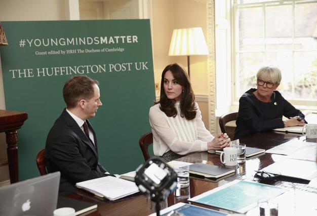 Μία μέρα αρχισυντάκτρια της Huffington Post η Κέιτ
