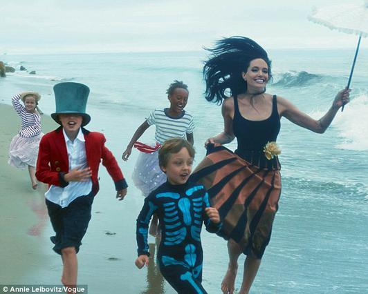 Αντζελίνα Τζολί:  Δεν ήθελα ποτέ να κάνω παιδί