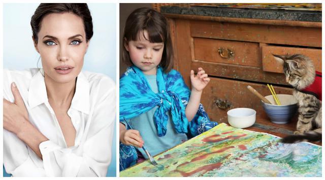 Η 6χρονη αυτιστική ζωγράφος που  κατέκτησε  και την Αντζελίνα Τζολί