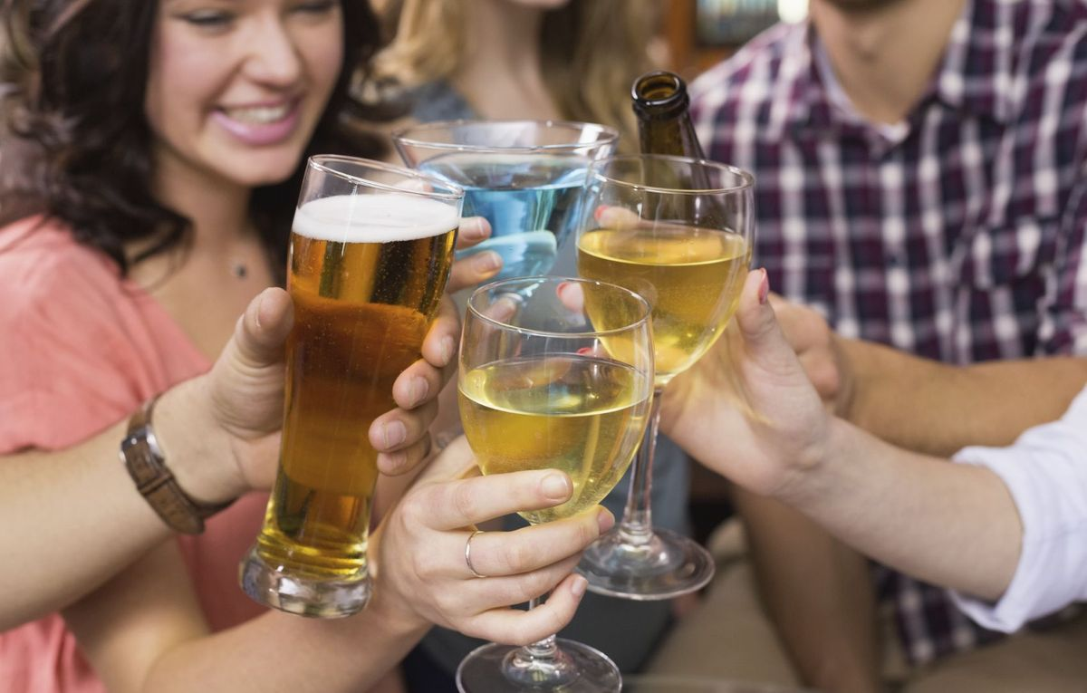 Κρασί ή μπίρα  Ποιο έχει λιγότερες θερμίδες   64c2cdf7dbd