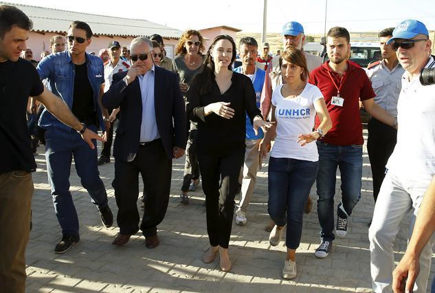 Στην Ελλάδα για τους πρόσφυγες η Αντζελίνα Τζολί