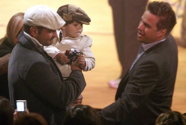 Ο γιός της Μπρίτνεϊ παρακολουθεί τη μαμά του από τα παρασκήνια  της εκπομπής.