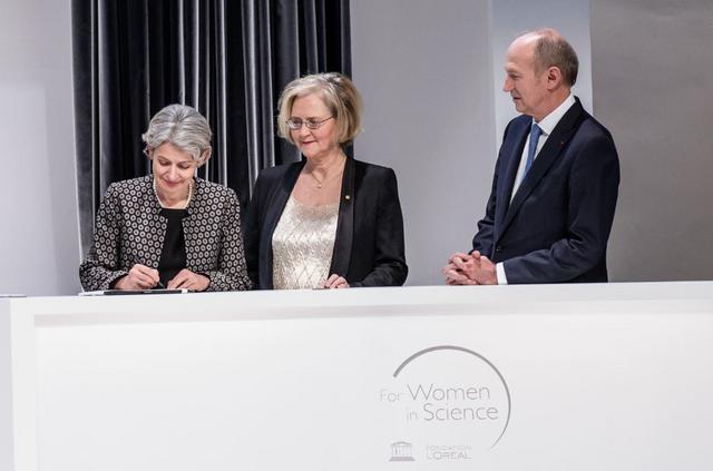 Διακήρυξη L'OREAL - UNESCO για την προαγωγή του ρόλου των γυναικών στην επιστήμη