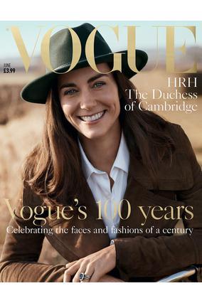 Η Κέιτ στο πιο ιστορικό εξώφυλλο της Vogue [photos]