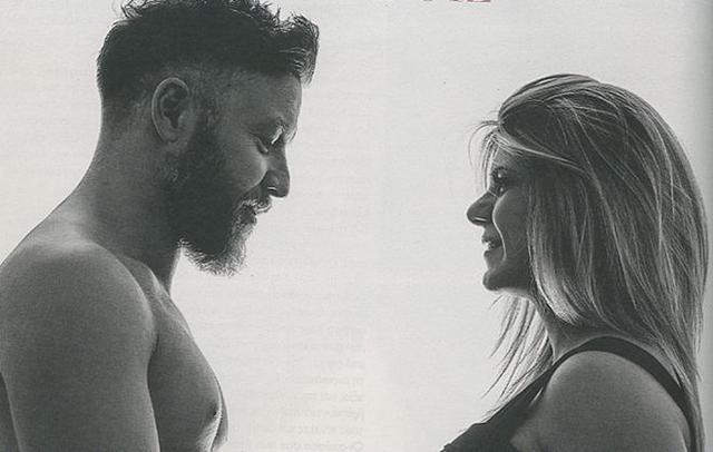 Ο Γιάννης Βαρδής ποζάρει με τη σύζυγό του -και την κοιλίτσα της [photos]