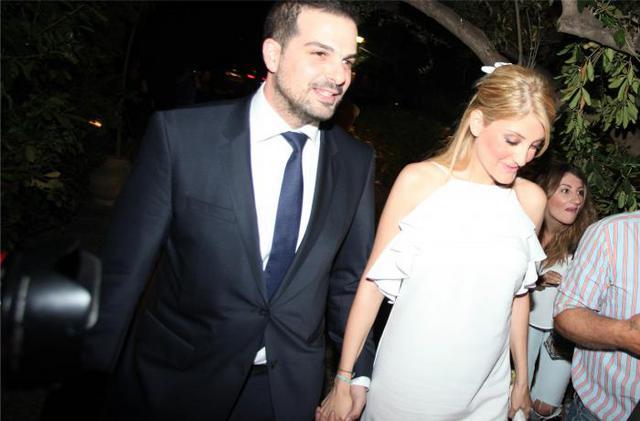 Παντρεύτηκαν Σακκελαρίδης και Τζίμα - Οι κουμπάροι & οι καλεσμένοι [photos]
