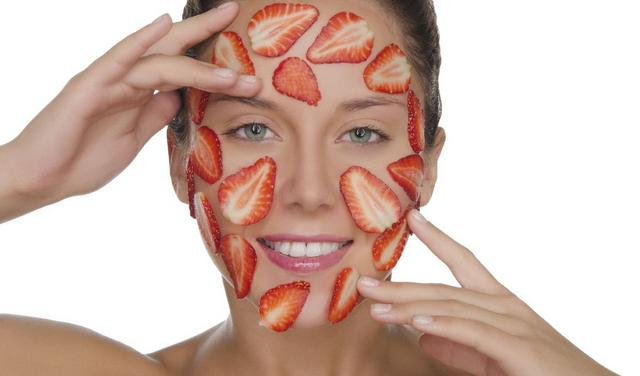 Ζουμερή ομορφιά με... φράουλες!