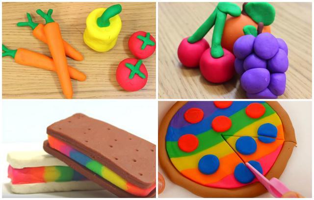 Για να εντυπωσιάσεις τα παιδιά: Εύκολες κατασκευές με πλαστελίνη [vds]