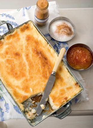 Ανοιξιάτικο γλυκό με φρέσκο τυρί