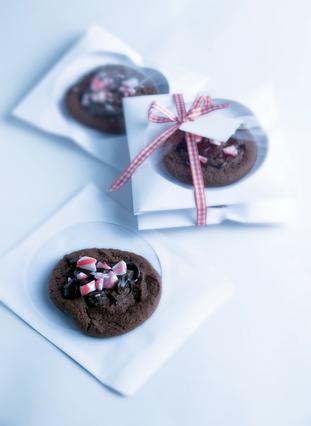 Μπισκότα Σοκολάτας με άρωμα τζίντζερ και καραμέλα