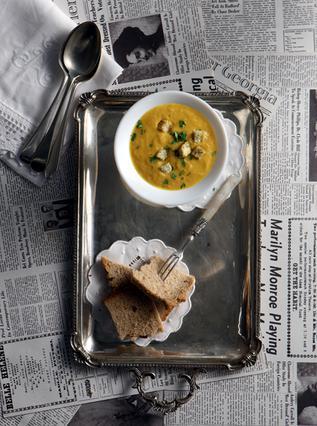 Σούπα βελουτέ με καρότα