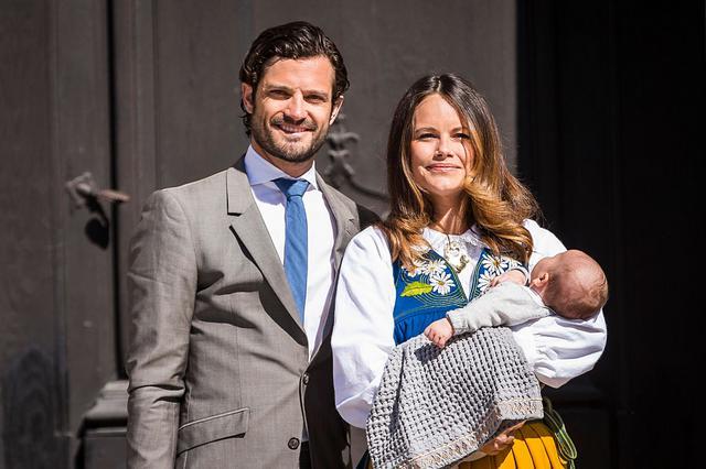 Επίσημη  πρώτη  για τον μικρό πρίγκιπα της σουηδέζας Σταχτοπούτας [photos]