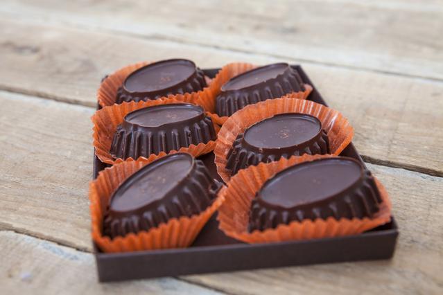 Σοκολατένια βραχάκια με καρύδα
