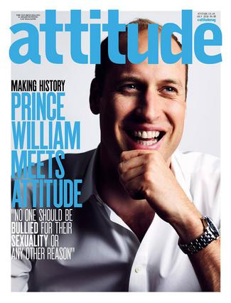 Γουίλιαμ: Ο πρώτος γαλαζοαίματος σε εξώφυλλο γκέι περιοδικού