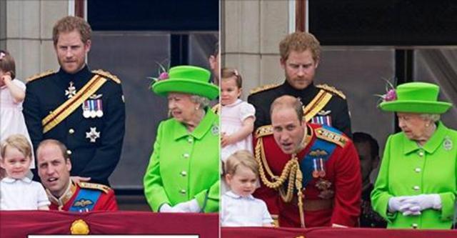 Η στιγμή που η βασίλισσα μαλώνει τον πρίγκιπα Γουίλιαμ δημοσίως [vds]