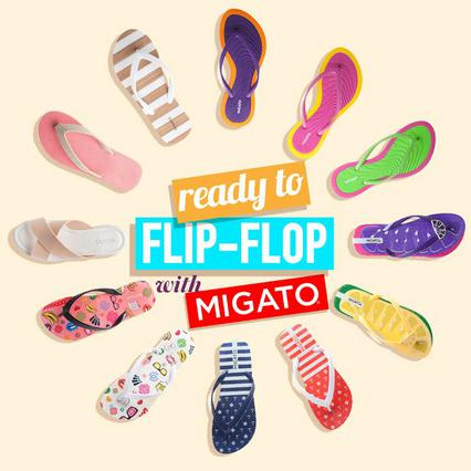 Are you ready to flip-flop with MIGATO?