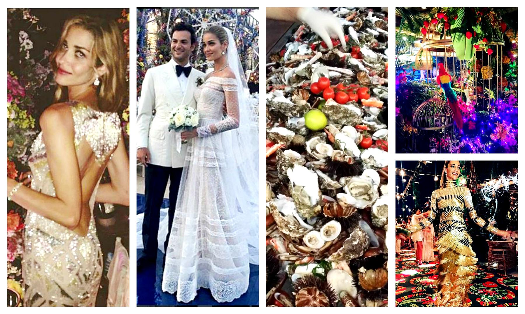 5050c3ff4e69 Βούλιαξε η Μύκονος  Χλιδή 5 εκατ. ευρώ στο πάρτι γάμου της Barros  photos