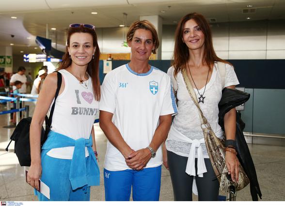 H Κατερίνα Λέχου στο Ρίο στήριξε την Κορακάκη [photo]