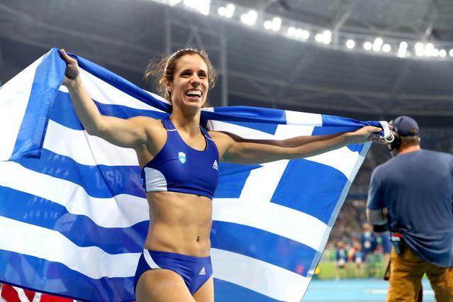 Η Ολυμπιονίκης Κατερίνα Στεφανίδη στηρίζει το No Finish Line της Αθήνας!