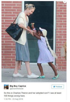 Θύελλα αντιδράσεων για τη Σαρλίζ Θερόν που ντύνει τον γιο της... πριγκίπισσα Έλσα [photos]