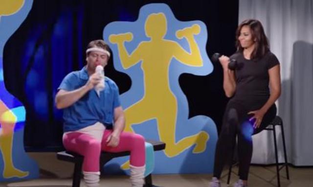 Επικό: Η Μισέλ Ομπάμα προπονήτρια σε χιουμοριστικό βίντεο! [vds]