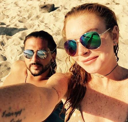 Ο Έλληνας επιχειρηματίας απαντά αν είναι ζευγάρι με τη Λόχαν