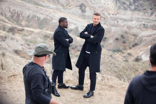 Ο David Beckham και ο Kevin Hart και πάλι μαζί σε ένα ταξίδι με αυτοκίνητο για τη νέα καμπάνια της H&M