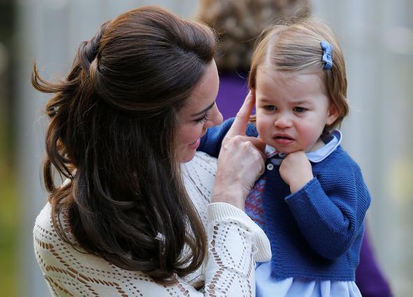Η Κέιτ αποκαλύπτει το μεγάλο πάθος της πριγκίπισσας Σάρλοτ