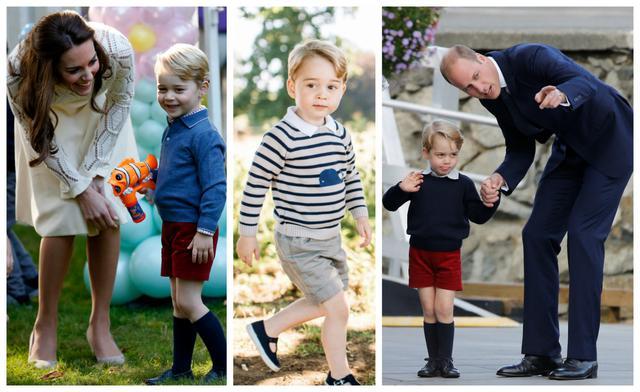 Γιατί ο πρίγκιπας Γεώργιος φορά πάντα και μόνο κοντά παντελονάκια;