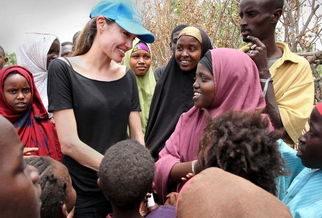 Η Αντζελίνα στο χειρότερο στρατόπεδο προσφύγων του κόσμου!