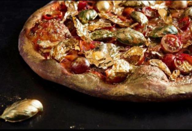 Θα έτρωγες πίτσα από ατόφιο χρυσάφι;