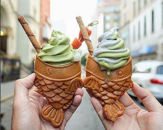 Αυτό είναι το παγωτό... ψάρι που έχει τρελάνει τη Νέα Υόρκη