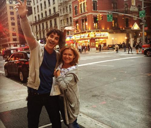 Απολαυστικοί! Παπακαλιάτης & Καβογιάννη σε μεγάλα κέφια στη Νέα Υόρκη [vds]