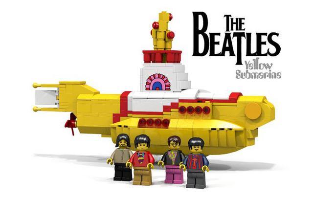 Οι Μπιτλς γίνονται Lego & αποκτούν υποβρύχιο