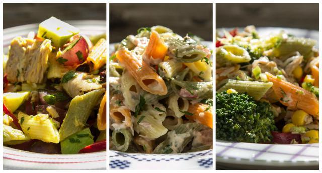 Οι βασικοί κανόνες για καλή σύνθεση στη σαλάτα ζυμαρικών & τρεις συνταγές μακαρονοσαλάτας με τόνο!