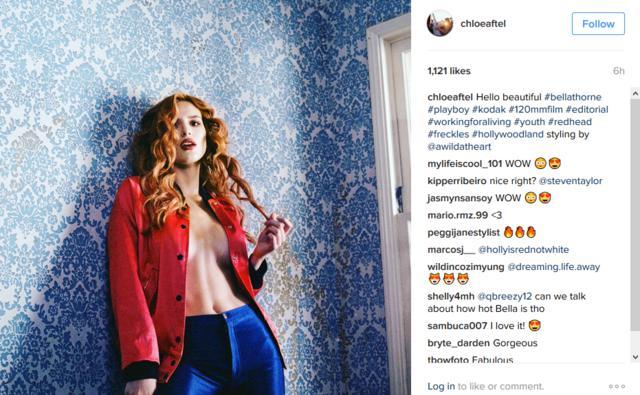 Η Μπέλα Θορν στην πρώτη της φωτογράφηση για το Playboy [photos]