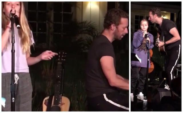 Coldplay: Τα παιδιά της Γκουίνεθ Πάλτοου επί σκηνής μαζί με τον μπαμπά Κρις Μάρτιν [photos & vds]