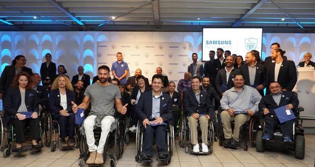 Η Samsung τιμά την Ελληνική Παραολυμπιακή Ομάδα
